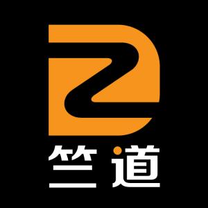 竺道竖黑圆logo