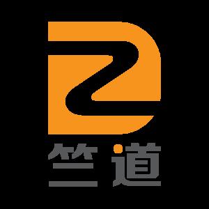 竺道竖透明圆形logo