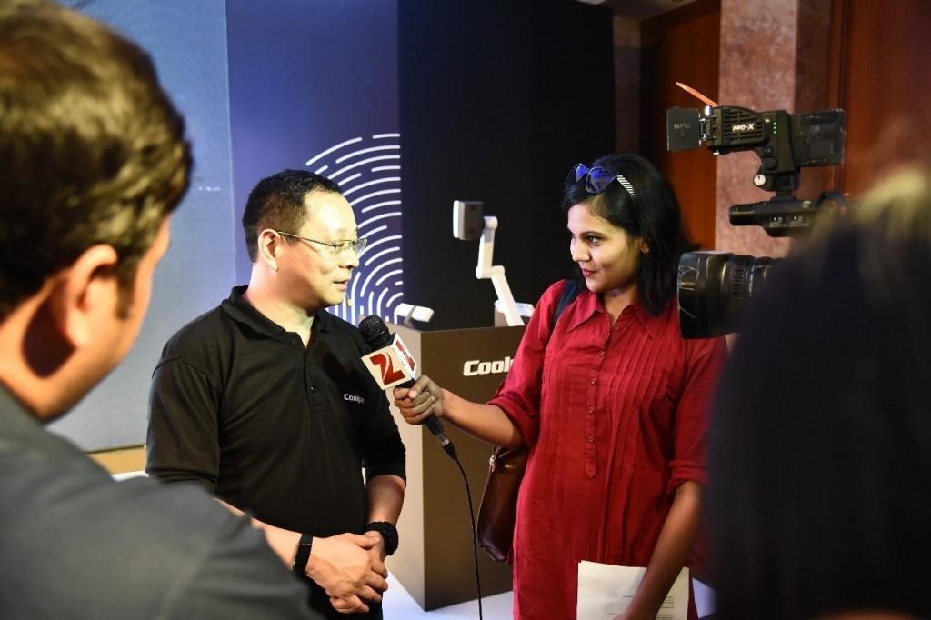 罗总接受印度电台ZEE TV采访