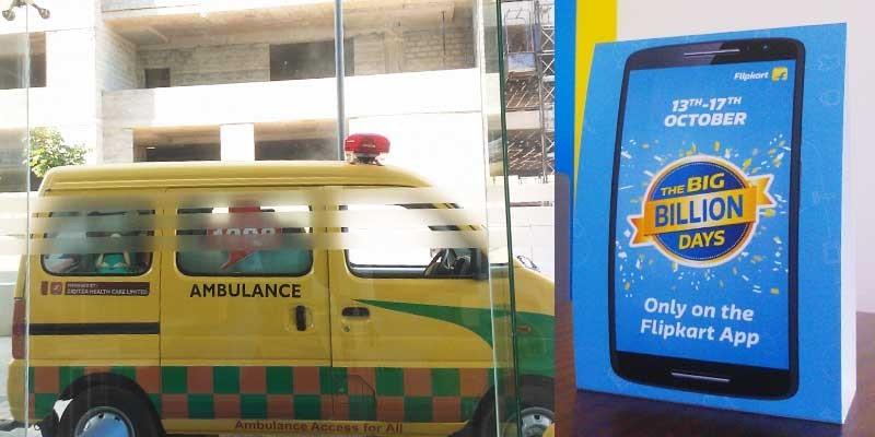 """【直击印度""""双11""""】Big Billion Days三亿美元成交额的背后:一辆救护车、一所数据中心、一支1000人的团队-竺道"""
