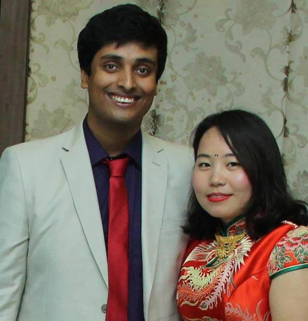 这个印度小伙和这个中国姑娘的跨国婚姻 收获的不只是爱情-竺道