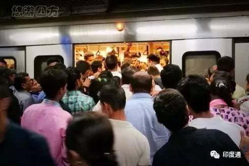 2017第二天,我们去德里坐高大上地铁-竺道