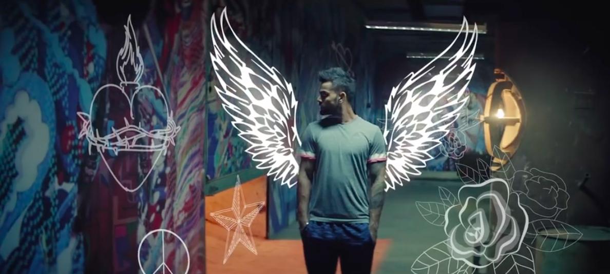 由板球明星Virat Kohli参演的印度阿迪达斯广告